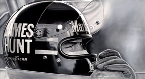 James Hunt. 55x100cm. Oil on canvas.